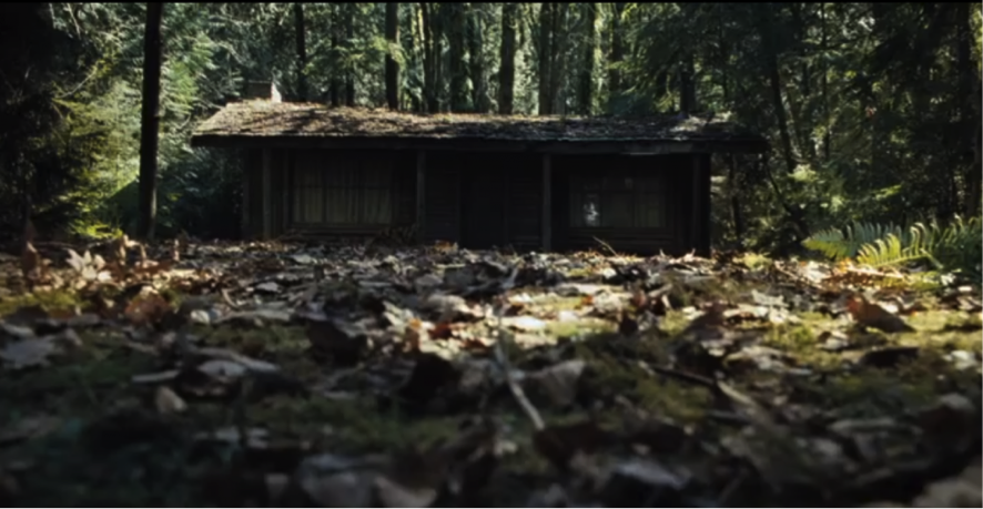 La cabaña en el bosque