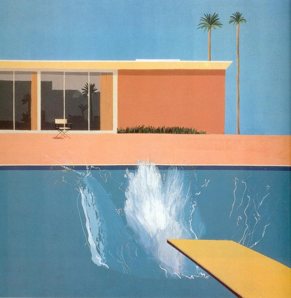 David Hockney - A Bigger Splash (1967)