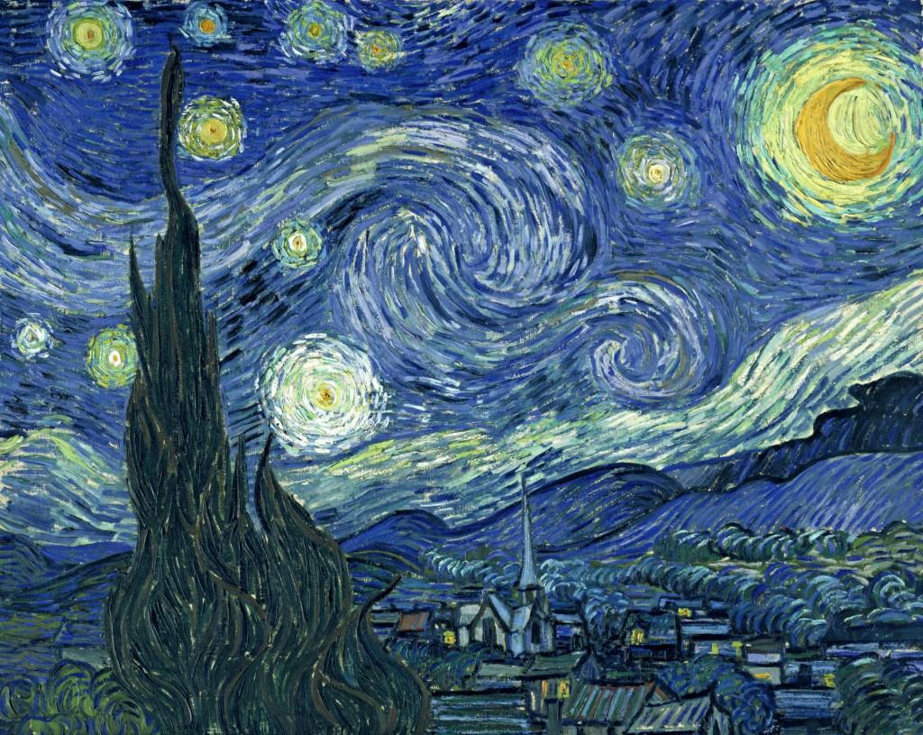 Vincent Van Gogh, La noche estrellada (1889)