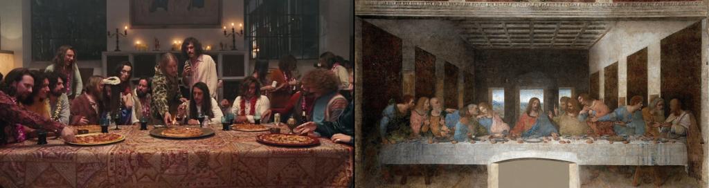 L'ultima cena (Leonardo da Vinci, 1497)