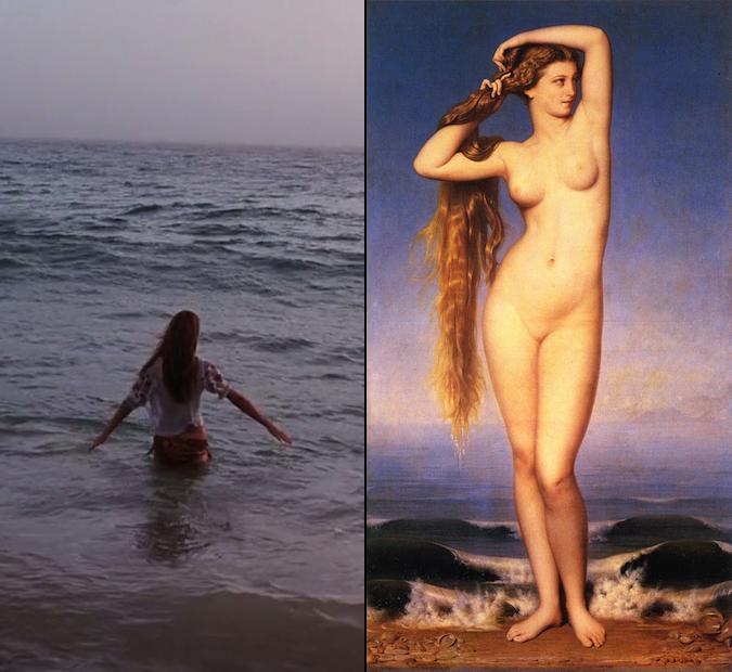 La naissance de Venus (Amaury-Duval, 1862)