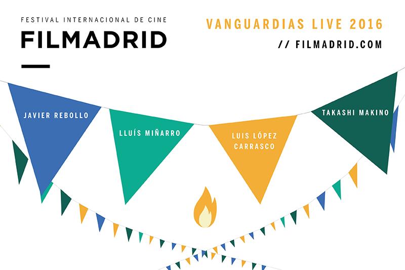 Filmadrid 2016 Vanguardias Live