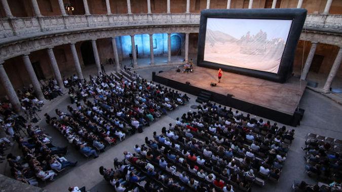 Inauguración de la X edición de Cines del Sur en el Palacio Carlos V - ©Granada Hoy