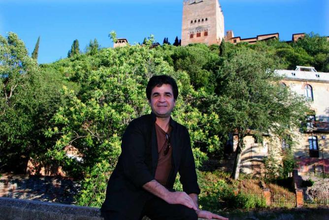 Jafar Panahi en Granada - ©Cines del Sur